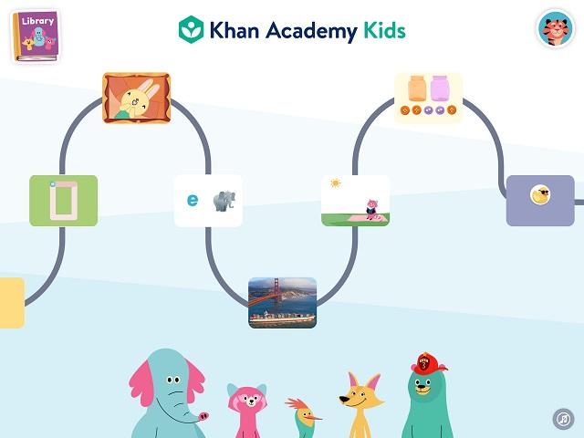 Khan Academy Kids(カーンアカデミーキッズ) 問題がランダムに出題
