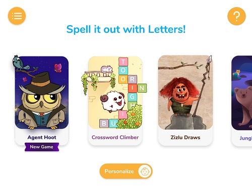 AR知育玩具 Shifu Plugo Letters シーフー プルゴ レターズ 子供 英語学習 ゲームの種類